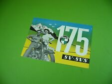 406KA2 Motorrad - Prospekt um 1953 von STEYR-DAIMLER-PUCH: PUCH 175 SV, 175 SVS