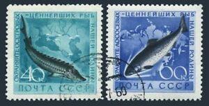Russia 2222-2223,2375-2377,CTO.Michel 2244-2245,2385-2387. Marine life 1959-60.
