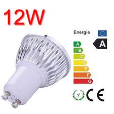 GU10 12W Bright LED Cup Light Spot Light Lamp Bulb Soft Warm White Lighting 230V