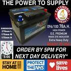 Vw Golf 4 5 Diesel Car Battery 096 100 12v Heavy Duty Sealed 1.9 2.0 Tdi 24hrdel