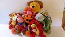 Fantastic Lot of Winnie the Pooh & Friends Halloween Bean Bag and Plush