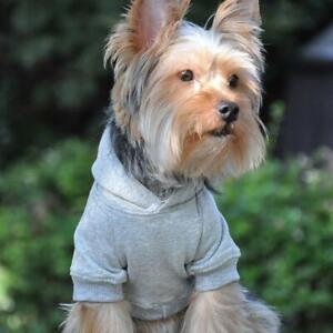 Doggie Design Gray Flex-Fit Dog Hoodie  XS-4XL