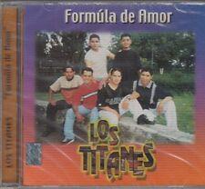 Los Titanes Formula De Amor CD New Sealed