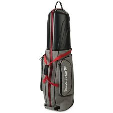 Founders Club Golf Club Travel Bag Travel Cover Luggage with ABS Hard Shell Top