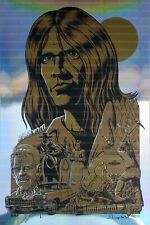 Neil Young Art Print Harvest Justin Hampton Holographic Limited Edition