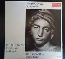 Ludwig van Beethoven Gesamtausgabe Drei Duos WoO 27 Füt Klarinette und Fagott
