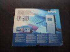 Sanyo ICR-B100 Digitales Diktiergerät Neu Originalverpackt/kpl.mit Zubehör