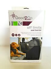 New listing Good2Go Off Limits Car Seat Barrier - Gray With Black New In Box