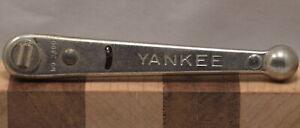 Vintage Stanley No. 3400 YANKEE Ratcheting Slotted Screwdriver (INV L243)