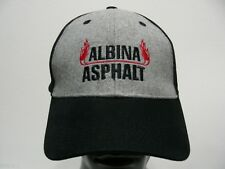 ALBINA ASPHALT - I LOVE ASPHALT - ONE SIZE ADJUSTABLE BALL CAP HAT!