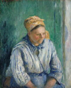 Camille Pissarro Washerwoman Giclee Art Paper Print Poster Reproduction