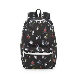 LeSportsac BTS Collection Carson Backpack in BT21 Black NWT