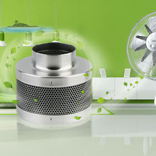 """New 4"""" Air Carbon Charcoal Filter Inline Fan Scrubber Odor Control Hydroponic BP"""