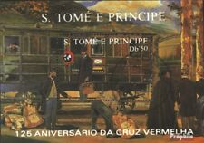 Sao Tome e Principe block183 (complete issue) used 1988 125 yea