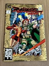 Ravage 2099 #1 - Signed By Stan Lee - No CoA (9.0/9.2 Vf/Nm)
