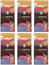 12 Bags Starbucks Premium Kenya Blend Medium Roast Whole Bean Best By 7/20