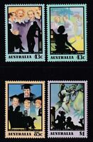 Australia 1991 : The Golden Age of Radio, Set of 4 Decimal Stamps, MNH