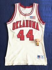 Authentic Russell Athletic Oklahoma Sooners Keane Jersey 44 sewn vintage Ncaa