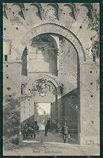 Siena Città Porta Romana cartolina QQ1747