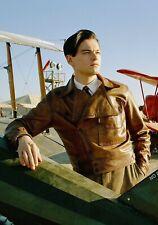 Belstaff Men's 'Howard' The Aviator Leonardo DiCaprio Leather Jacket Medium