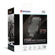 66196 Verbatim 15W 自動感應無線充電車座