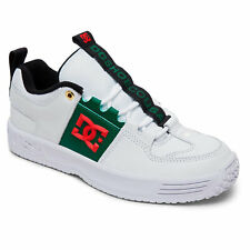 DC Shoes Men's Lynx OG Skate Low Top Sneaker Shoes White/Green Footwear Skate...