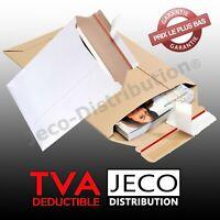 Enveloppes cartons pochette rigide d'expédition lot 1 à 200 brun marron blanche