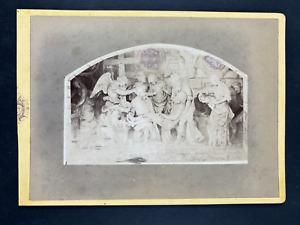 France, Saint Mihiel, Sépulcre de Saint-Mihiel Vintage print. Carte cabinet