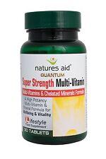 Naturalezas ayuda Quantum Super fuerza multi-vit y minerales (yodo Libre) 30 Etiquetas