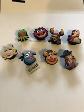 Lot of 8 Disney Pirates Caribbean Muppets Original Jibbitz Shoe Charms for Crocs