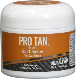 Pro tan quick bronze dark brown posing gel