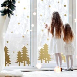 CHRISTMAS Tree Window STICKERS DECORATIONS WALL Sticker