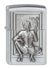 Zippo Lighter ● esmoquin Girl Woman sexy emblema ● 1300127 nuevo New OVP ● a112