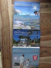 4 x Frankana Freiko Das Bordbuch 2015, 2016, 2017 und 2018