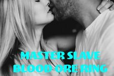 Master Slave Love Romance Sex Commitment Control Blood Ore Ring Dominate Sub