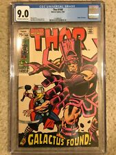 Thor #168 CGC 9.0 OW/W - Origin of Galactus; 1st Appearance of Thermal Man