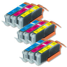 9 COLOR PK Replacement Ink for Canon CLI-251XL MG6600 MX920 MX922 iP7220 iX6820