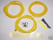 Seat Ibiza Cupra/Cupra R/1.8T Silicone Vacuum Hose kit- Yellow  Boostjunkies