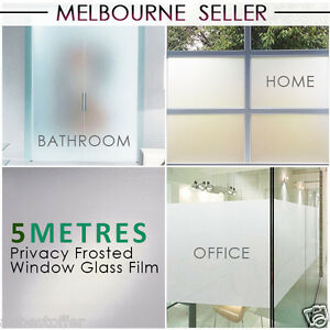 90cm*5m Sand Blast Clear Frosted Frosting Window Glass Removable Privacy Film