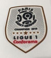 Ligue 1 Conforma Champion Toppa patch Paris Saint-Germain 2018 -2019 Mbappe