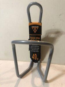 Topeak Water Bottle Alloy Cage Road Bike 49g Gray