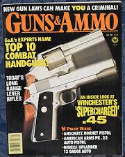 Vintage Magazine GUNS & AMMO May 1989 !!! COLT Bisley REVOLVER !!!