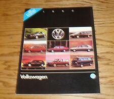 Original 1990 Volkswagen VW Full Line Sales Brochure 90 Jetta Golf GTI Passat