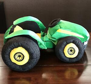 Build A Bear John Deere Tractor Farm Green Yellow Plush Vehicle Soft Toy BABW