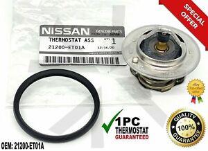 Genuine Nissan Thermostat 21200-ET01A NV200 Rogue Sentra Versa Tiida 82° 🔥  .