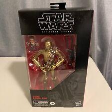 "Star Wars The Black Series 6"" Action Figure C-3PO and Babu Frik"