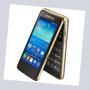 Samsung Galaxy Golden GT-I9235 Champagne Gold LTE Original Filp Phone