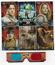 2008 Inkworks Journey to the Center of the Earth 3-D Trading Card Set w/ Glasses