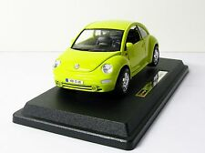 Bburago Bijoux Volkswagen New Beetle 1:24 Scale Diecast Car Model MIB