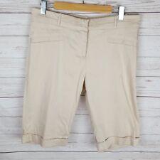 Portmans Bermuda Shorts Size 14 Beige